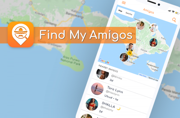 Find My Amigos App